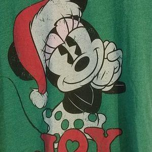 Disney Tops - Disney Minny Mouse Christmas shirt sz XL (371)